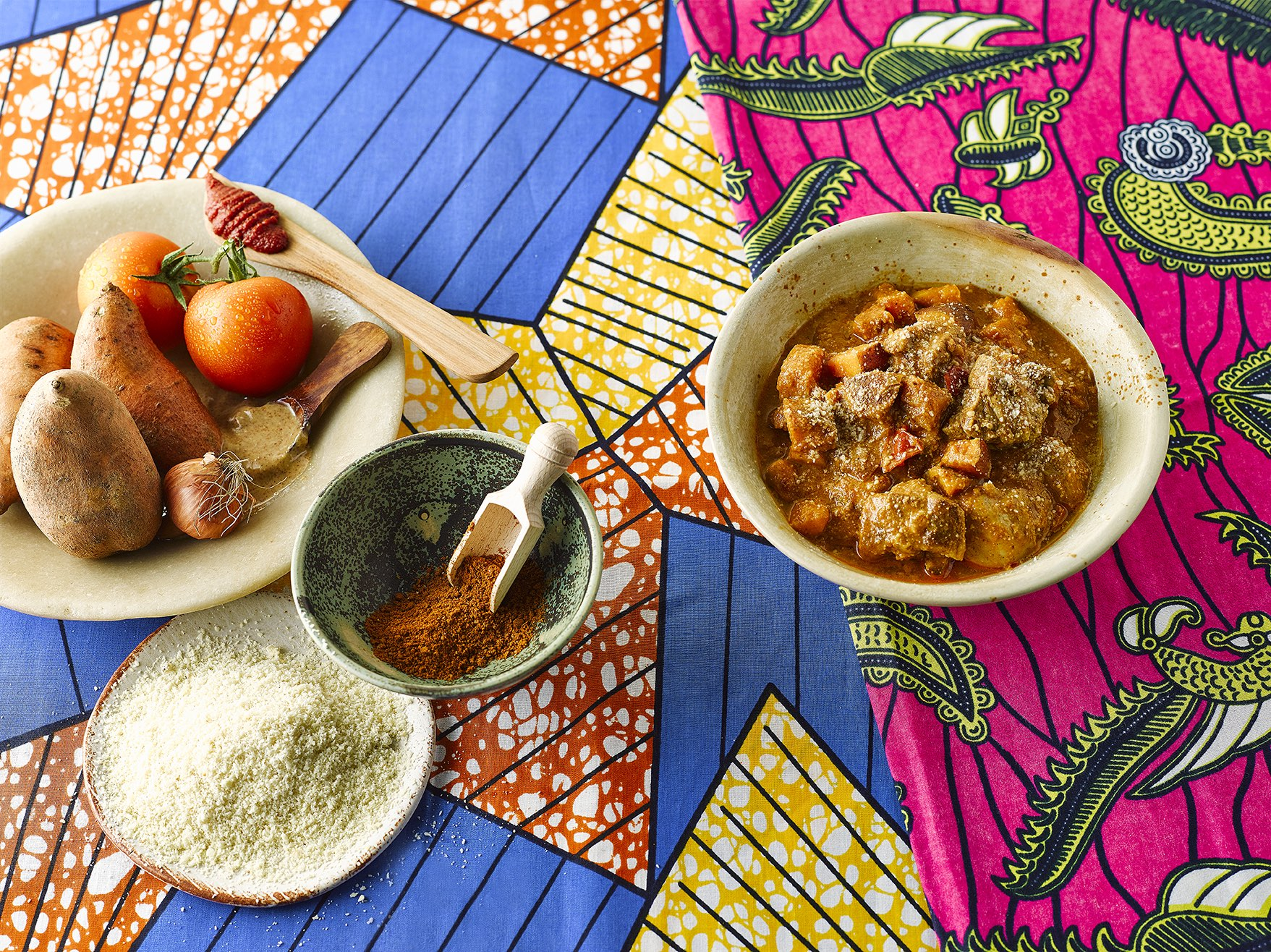 West African One Pot Chicken Maffe