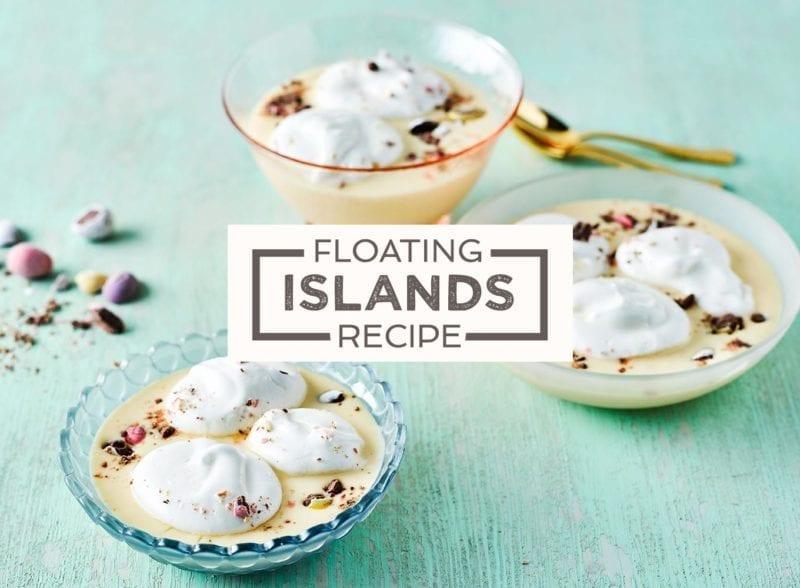 Illes flottantes floating islands recipe