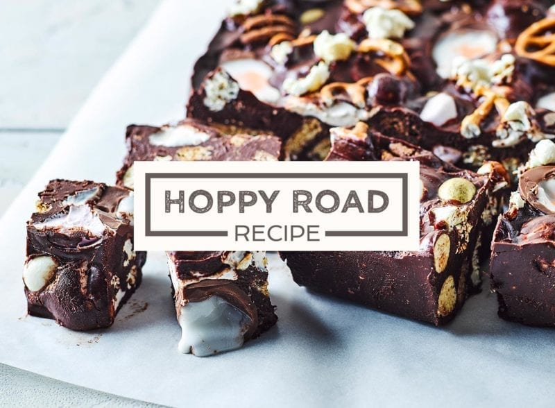Easter easy rocky road recipe