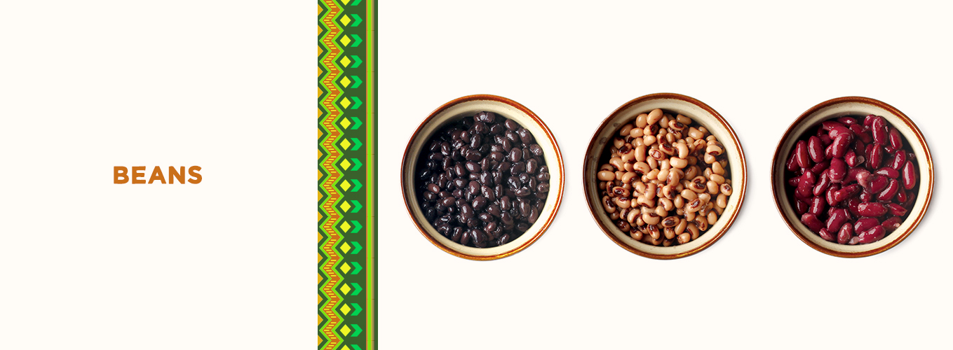 Mexican Ingredients: beans