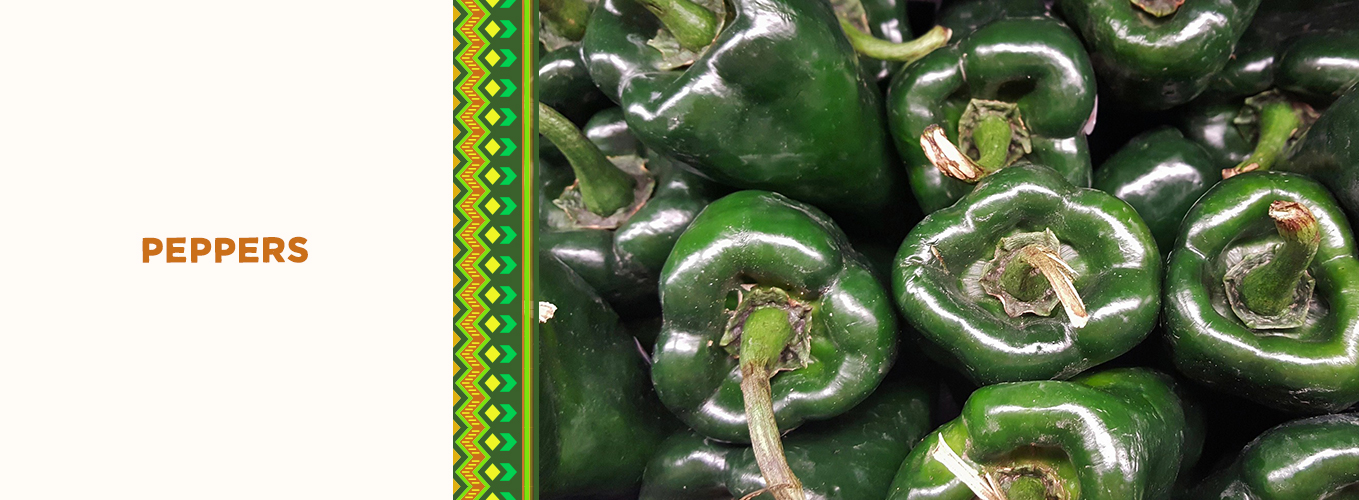 Mexican Ingredients: peppers