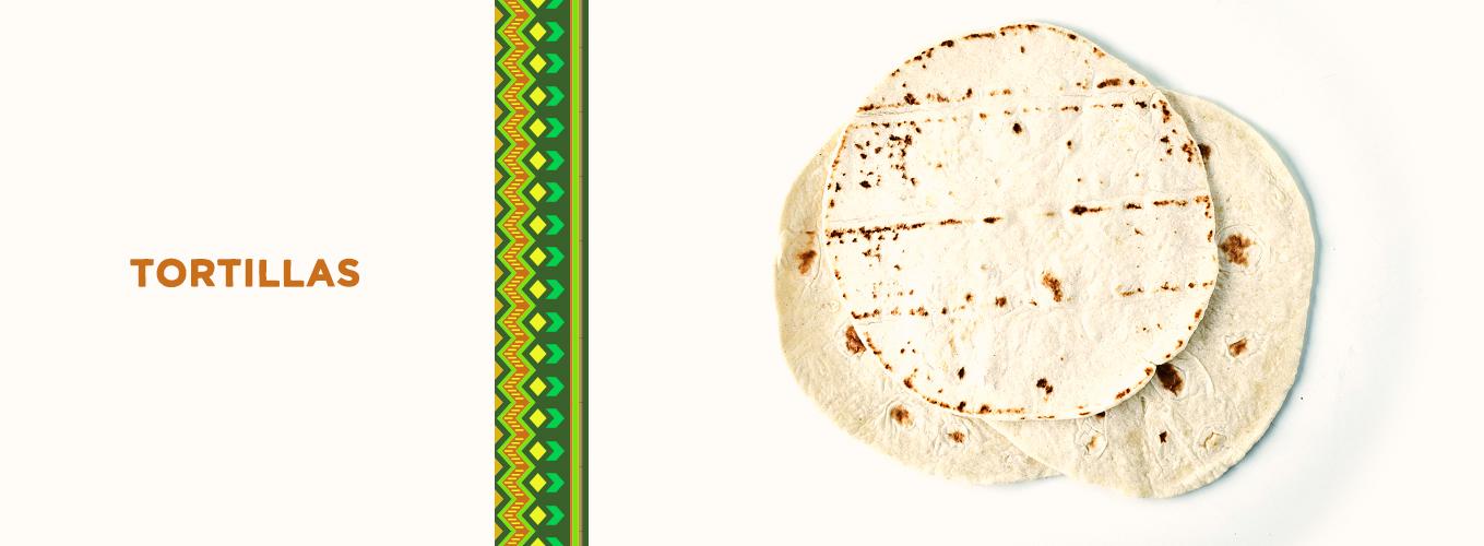 Mexican Ingredients: tortillas