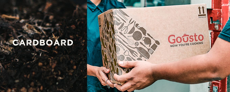 composting cardboard