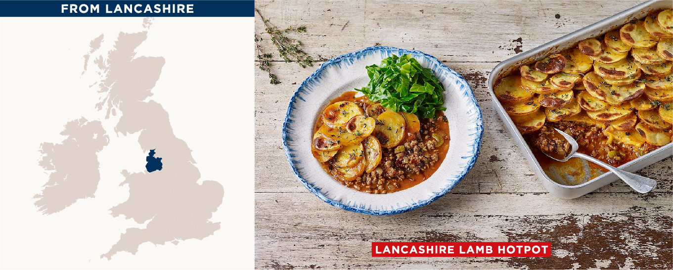 Lancashire Lamb Hotpot & Wilted Greens