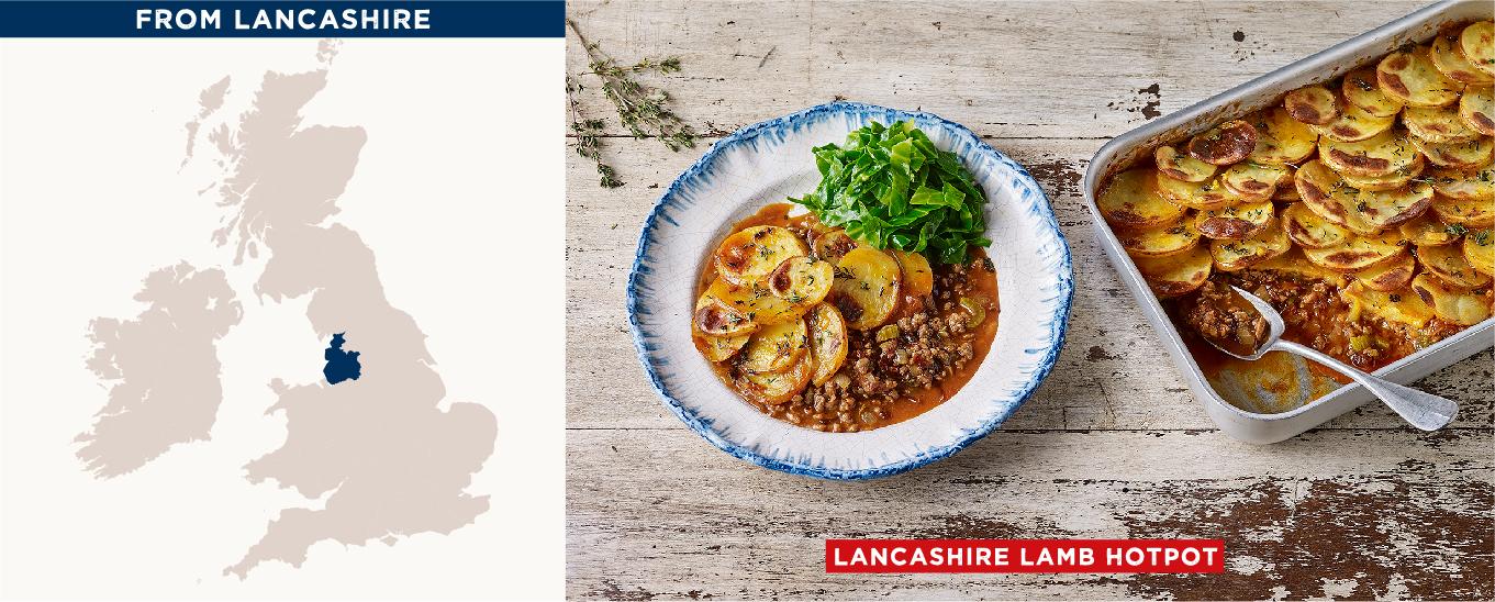 Lancashire Lamb Hotpot & Wilted Greens