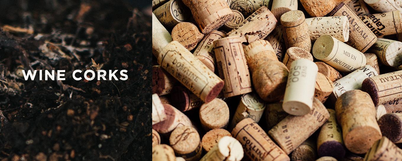 composting wine corks