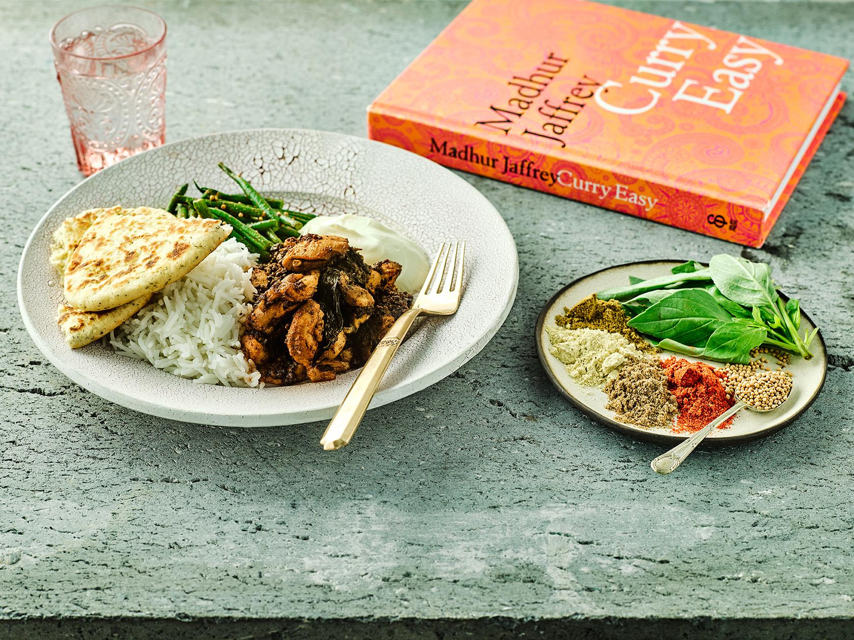 madhur jaffrey chicken vindaloo recipe with spices
