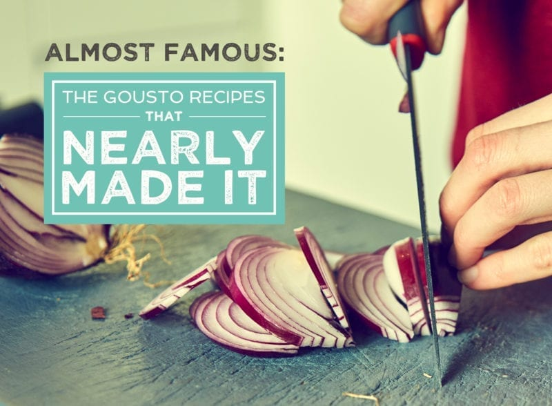 Almost Famous: The Gousto Recipes That Nearly Made It