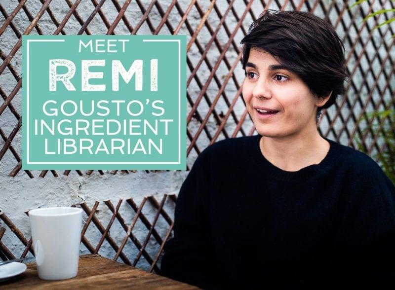 meet remi gousto's ingredient librarian